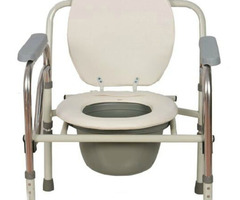 New Folding Handicapped Mobile Bath Chairs Stainless Steel Elderly Seat Commode Chair Disabled Toilet Potty Chair Free Shipping On Aliexpress.Com