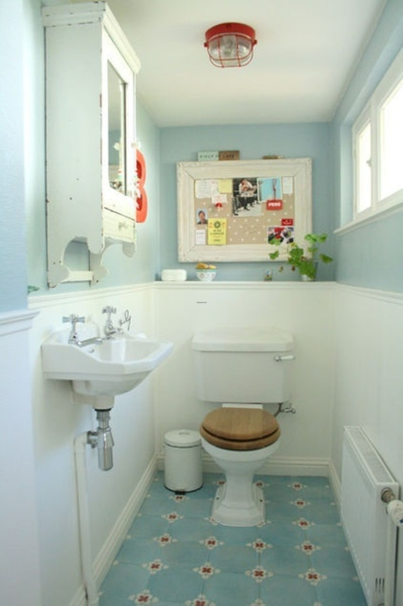 Ideas about very small bathroom on pinterest small for Tiny toilet ideas