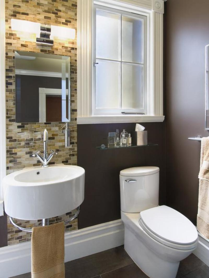 Very small master bathroom awesome with images of very for Tiny bathtub