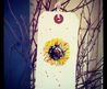Hand Painted Watercolour Gift Tag By Rebecca Yoxall, Luggage Tags, Unique, Creative Gift Wrapping, Watercolor Painting, Sunflower.