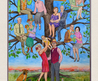 Commission Your Family Tree Painting From Photos Of Your Family Members