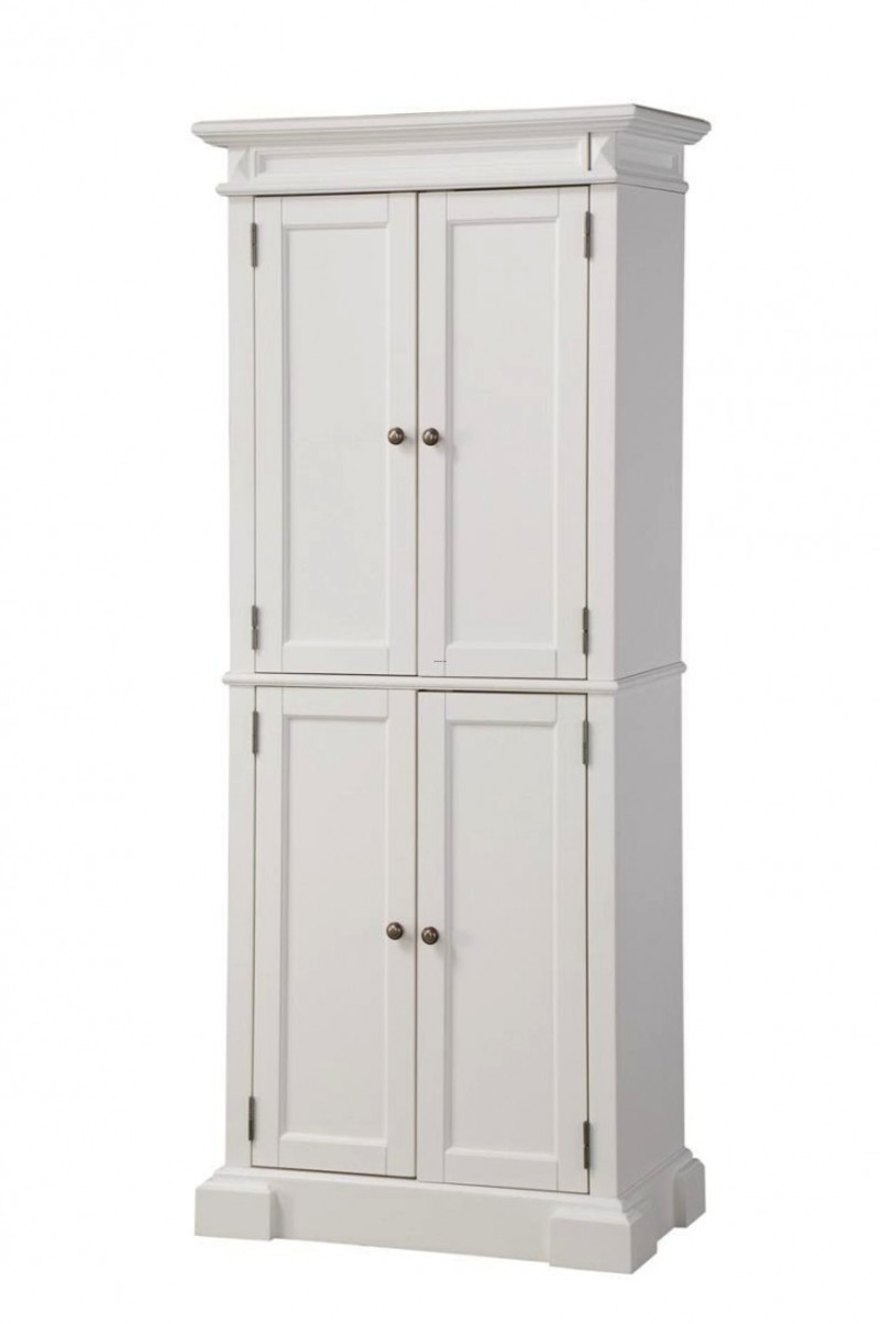 White Storage Cabinets With Doors Freestanding Pantry Cabinet