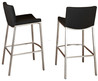 Shop Steel Black Vinyl Stool Bar Stools And Counter Stools On Houzz