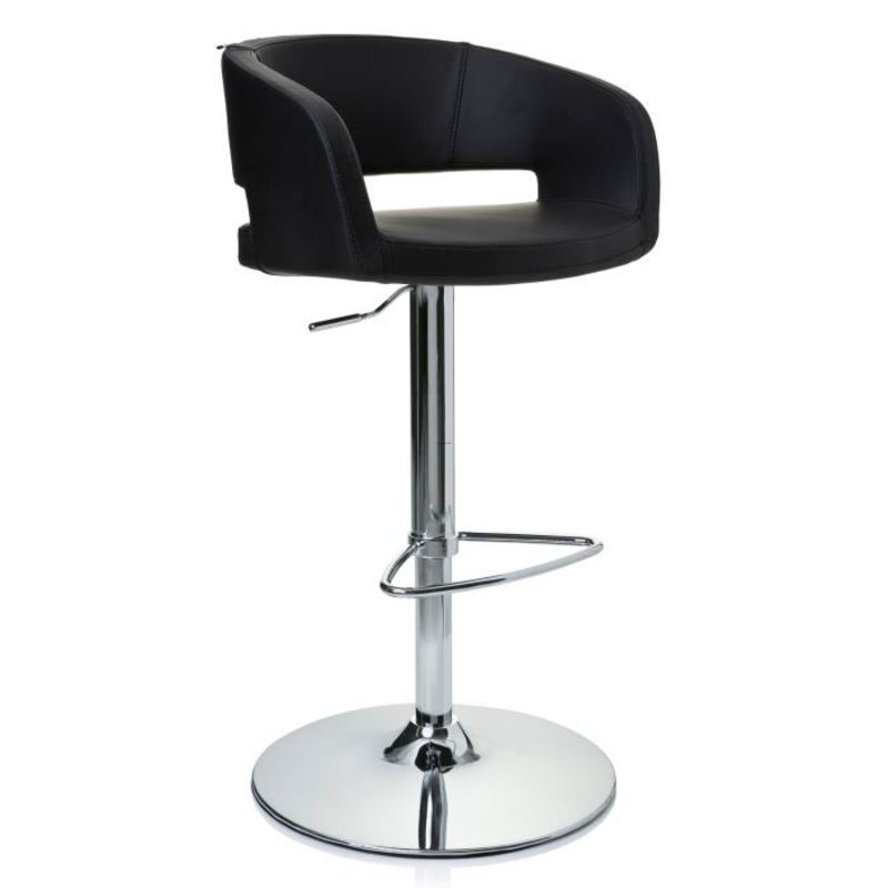 tabouret de bar chaise haute vita chrome et design. Black Bedroom Furniture Sets. Home Design Ideas