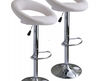 2 X Leather Bar Stool Kitchen Chairs