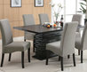 Stanton Contemporary Dining Table At Brookstone—Buy Now!