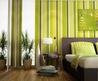 Green Stripes Wall Color In Cool Bedroom Design With Natural Plants Paint Ideas Interior Design And Color Decoration Picture Home Decoration Interior Wall Paint Colors Photos. Paint Ideas Interior Design. Best Wall Interior Paint.