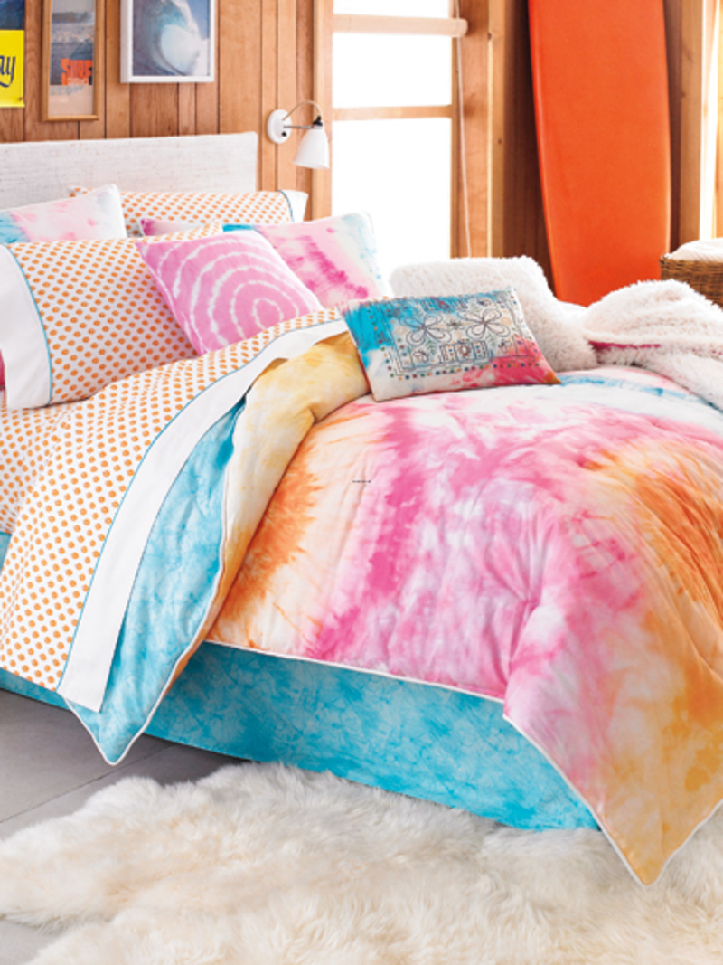 teen vogue bedding adds tons of personality and color to bedrooms design bookmark 20065. Black Bedroom Furniture Sets. Home Design Ideas
