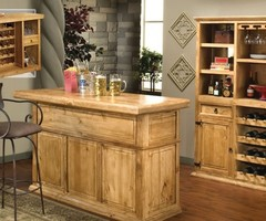 Nice Simple Home Bar Design