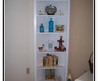 Photographs Corner Bookcase White