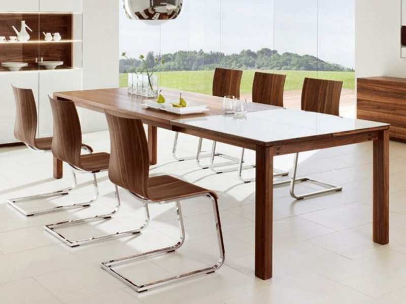 Kitchen and dining room table and chair sets on for Modern dining chairs pinterest