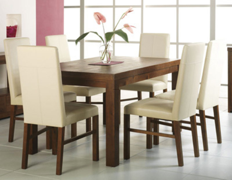 Dining room table and chairs modern dining tables for Modern dining table and chairs set