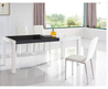 Modern Dining Room Chairs Throughout 767 Table And 1001 Chairs Black W100 Buffet Modern Dining Sets