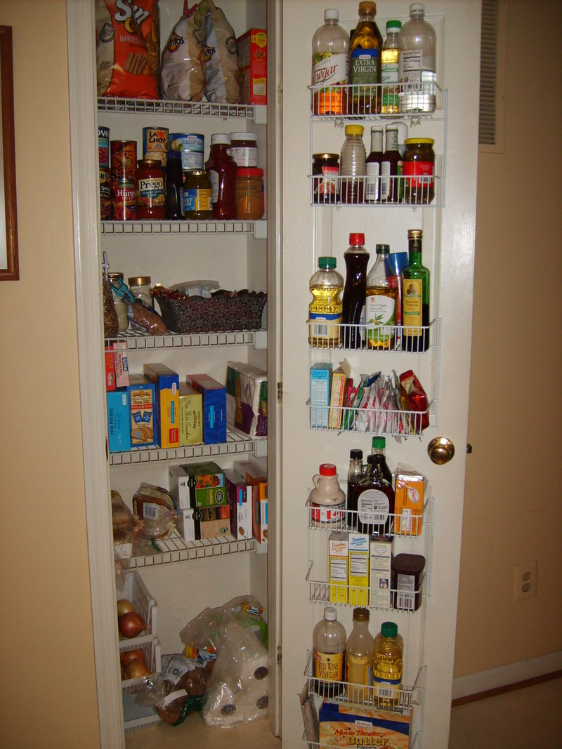Clean Dimgrey Pantry Design Ideas Design Bookmark 20310