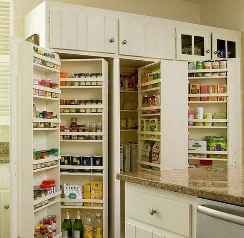 Small Kitchen Pantry: Pantry Ideas For Small Kitchen / Design Bookmark #20316