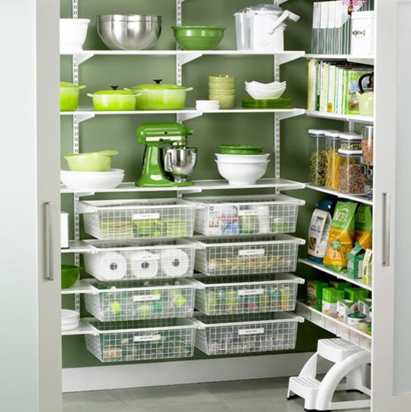 Kitchen Organization Ideas Small Spaces: Kitchen Pantry Ideas For Small Spaces / Design Bookmark #20317