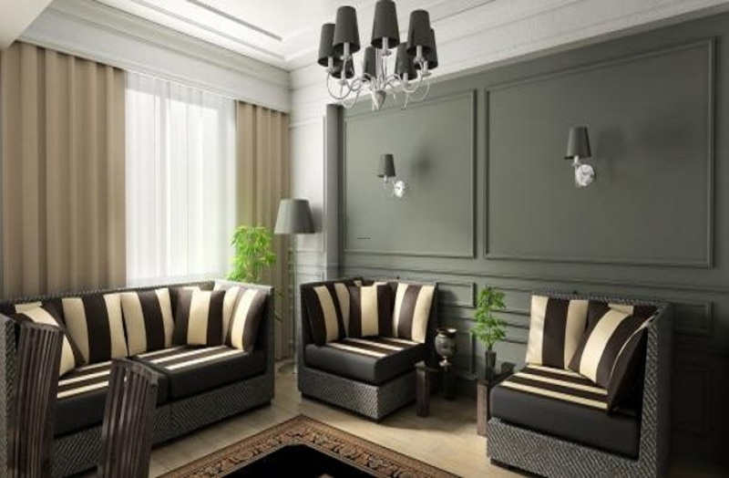 Modern Window Treatment Ideas For Contemporary Living Room