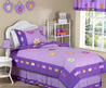 Purple Bedding For Girls Twin Or Full/Queen Kids Comforter Sets