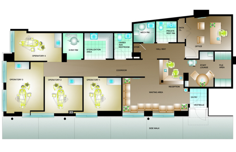 Paterno gianatasio design bookmark 20510 for Dental office design 1500 square feet