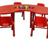 Colorful Eco Friendly Modern Kids Furniture Chairs And Table Set