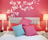 Pink Bedroom Paint Ideas Accent Wall Mural Tree