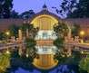 Balboa Park'S Botanical Building And Lily Pond