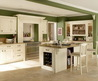 Green Wall Color Cabinets For Kitchen