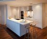 Clean White Kitchen Island Design