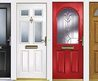 U Pvc Wood Finish Composite Front Residential Entrance Doors In Hampshire & West Sussex