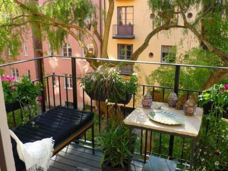 Apartment terrace design ideas with apartment balcony for Balcony terrace