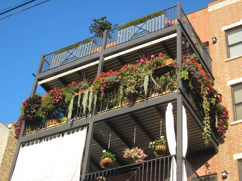 The amazing concept of small apartment garden design for Balcony vegetable garden