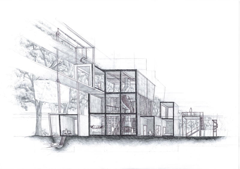 Architecture, Sketchbook Architecture 1 By Yongs On Deviant Art
