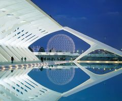 City Of Arts And Sciences, Valencia, Spain, Architecture, Exhibition