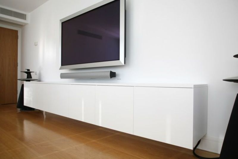 Wall Mounted Tv Cabinet, Lounge On Pinterest