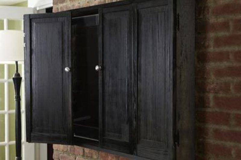 Wall Mounted Tv Cabinet, How To Build A Wall