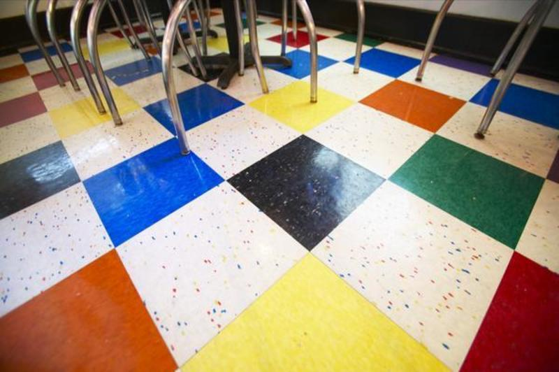 Vinyl Floor Patterns And Design Cool Self Sticking Vinyl Floor Tiles