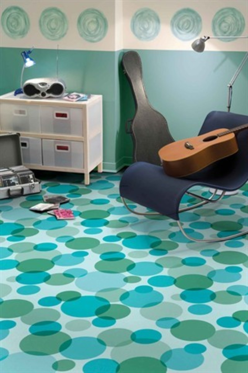 Vinyl Floor Patterns And Design 5 Fun Modern Flooring Designs