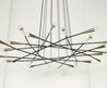 Rewire Custom Multi Arm  Flat Chandelier