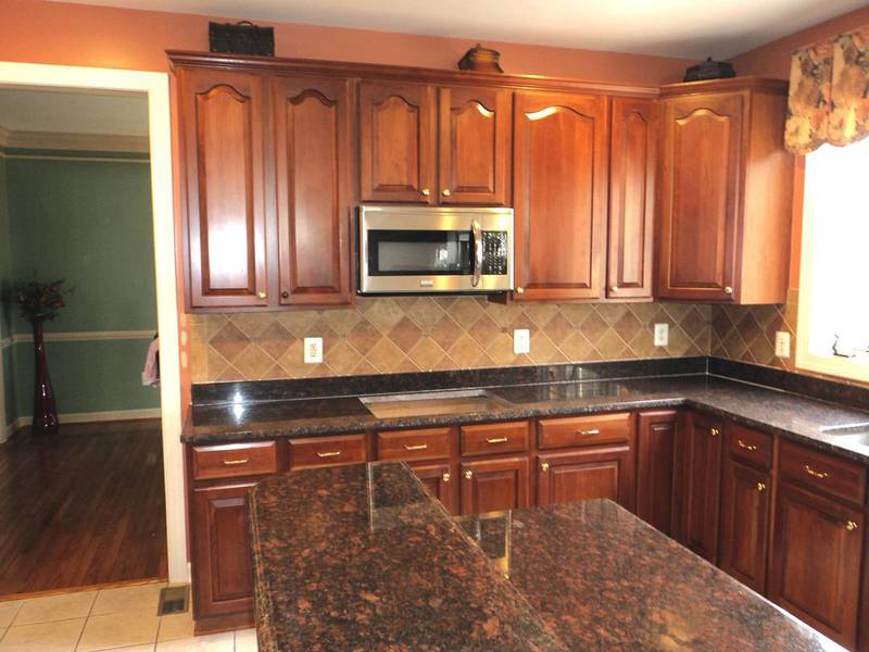 Dark Brown Granite Countertops : Granite countertops ideas kitchen design bookmark