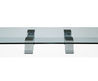 Coffee Table / Contemporary / Natural Stone / Glass