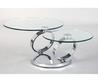 Contemporary Glass Top Coffee Table With Stainless Steel Multi Pedestal. Furniture. Astonishing Round Coffee Table With Metal Legs Design Ideas. Oak Coffee Table. Coffee And End Tables. Small Round Coffee Tables. Coffee Tables Round. Furniture