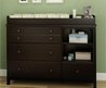 Espresso Changing Table For Baby Bedroom