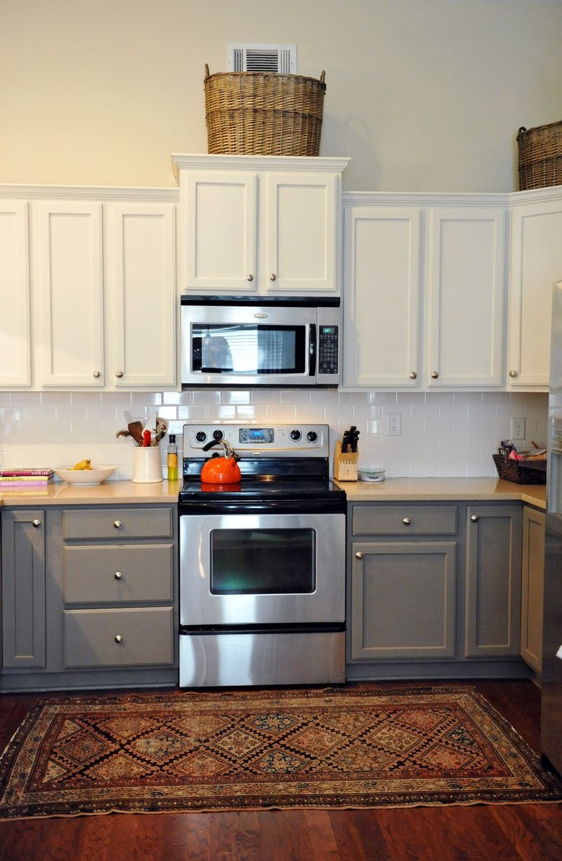 Painting kitchen cabinets color ideas design bookmark 21271 for Cabinet paint color ideas