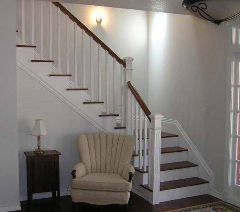 Basement Stairs Design: Stainless Steel Stairs Handrail / Design Bookmark #21283