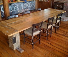 Selecting The Best Chairs For Rustic Farmhouse Table — Home Furniture