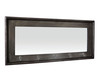 Charlton Home Rectangle Mirror With Hooks & Reviews