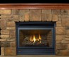 15 Charming Fieldstone Fireplace Design Ideas Mixed With Natural Wood Flooring