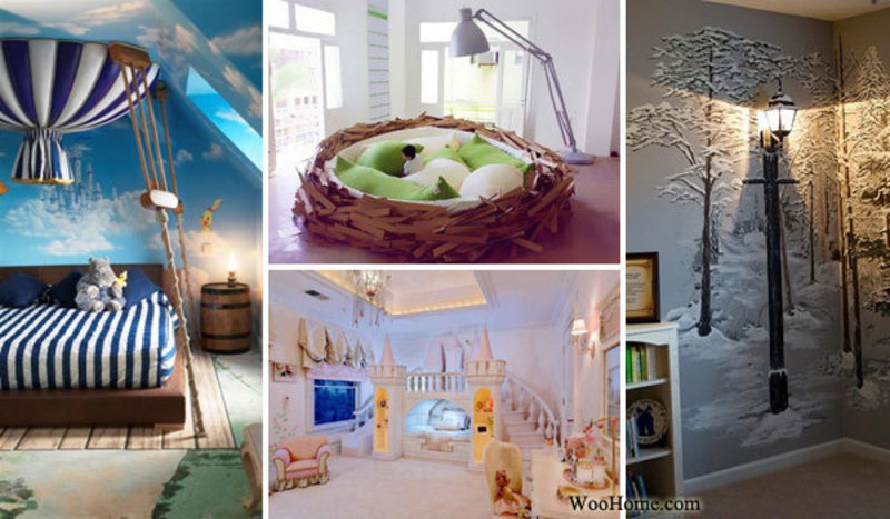 21 fairy tale inspired decorating ideas for child s for Fairytale inspired home decor
