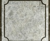 Grey Laminate Stone Composite Marble Water Jet Pattern From China