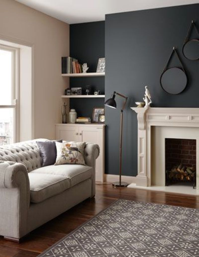 Dulux paint on pinterest design bookmark 21621 for Front room feature wallpaper